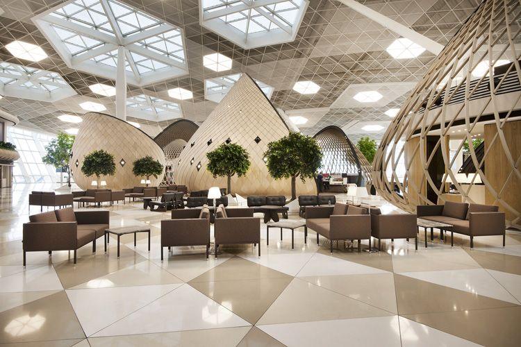 Autoban designs Heydar Aliyev International Airport terminal in Baku