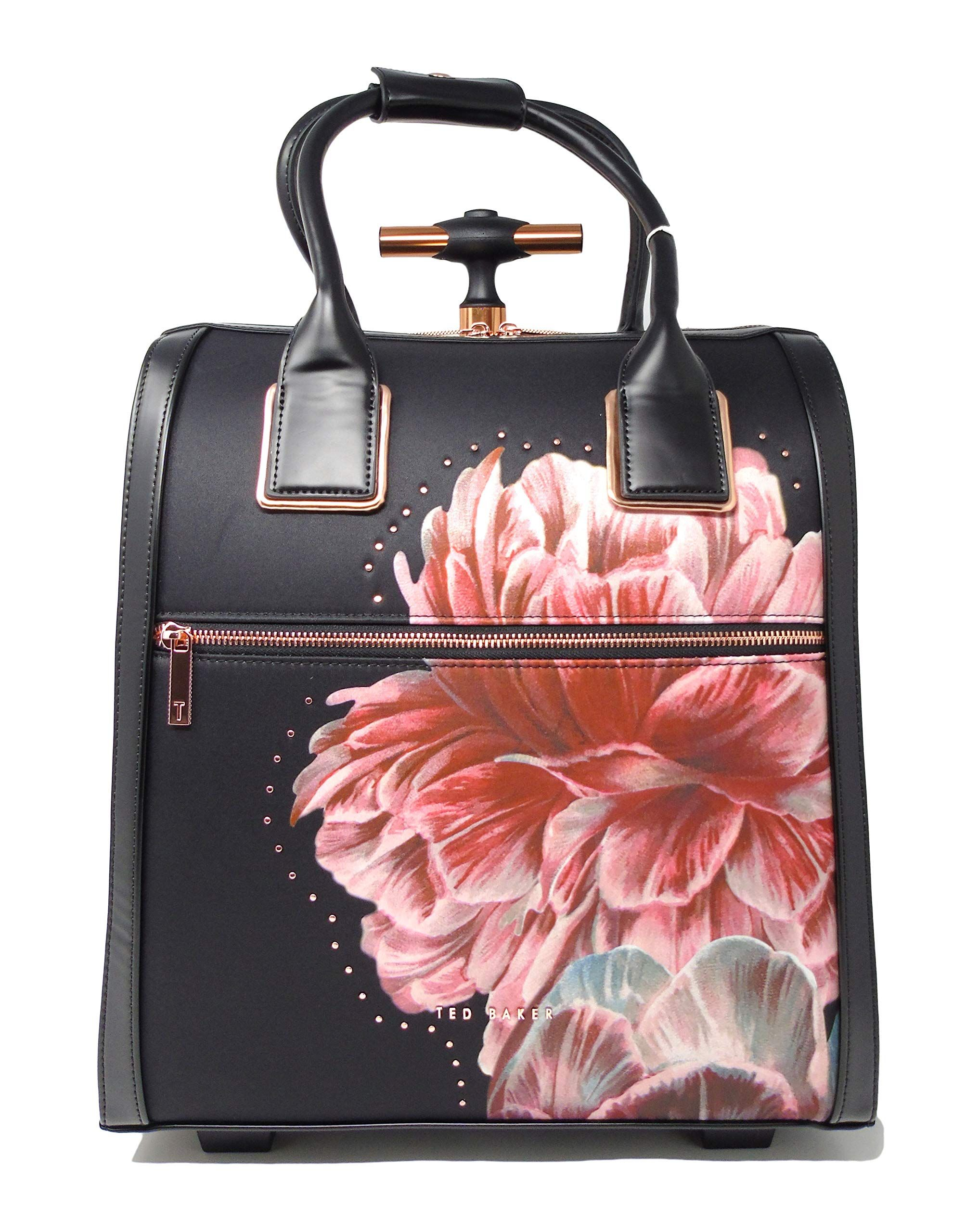 e2e8ae02f Ted Baker Women's Leillaa Black One Size Extendable handle & 2 rolling  wheels Ted Baker