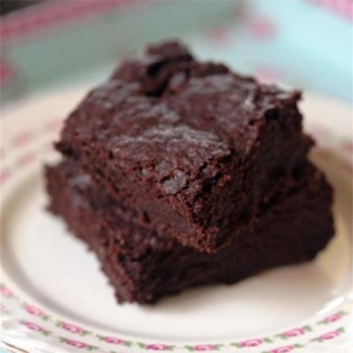 Chewy Chocolate Vegan Brownies