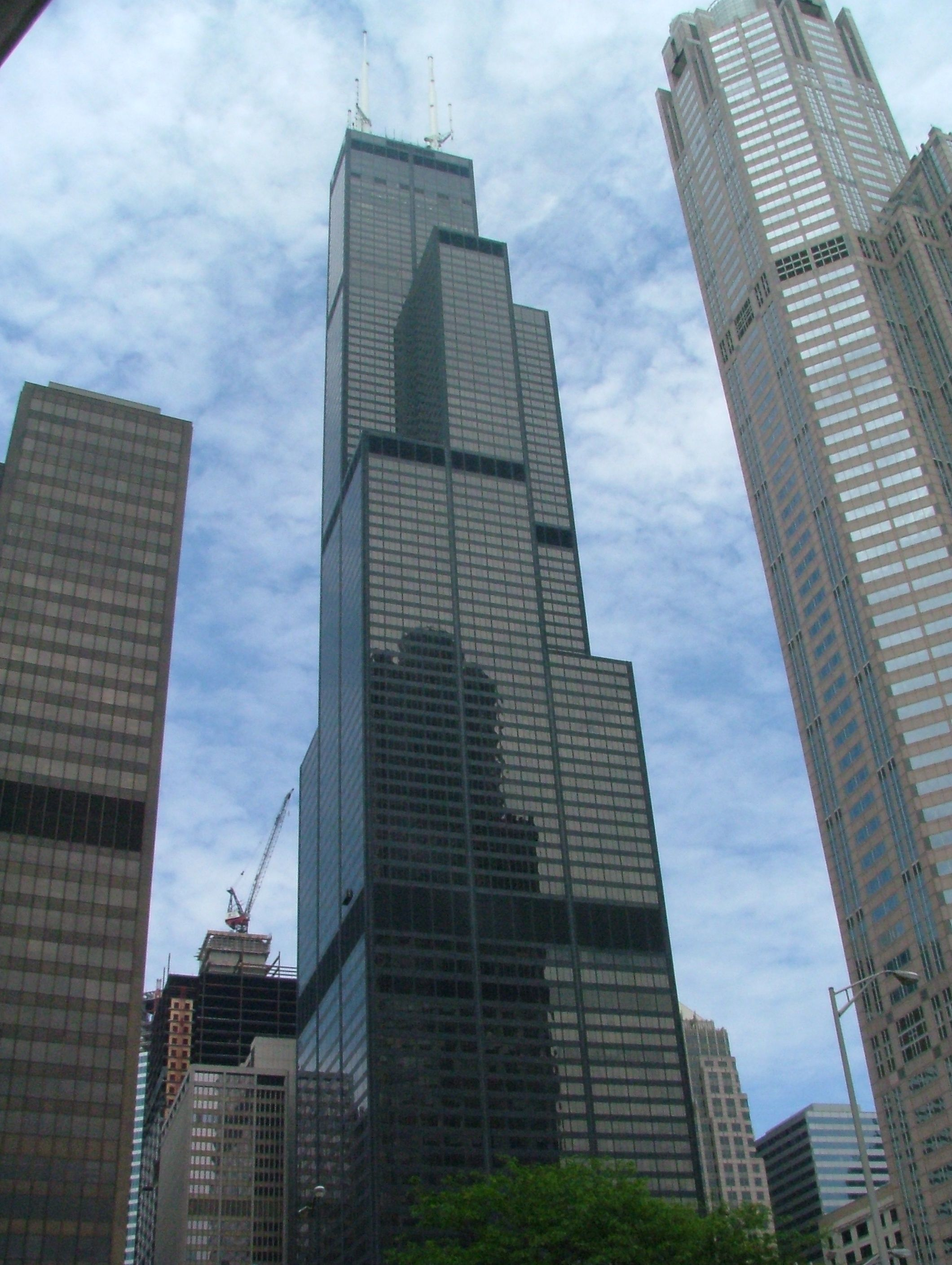 Sears Tower @ Chicago, IL | High rise building, Willis ...