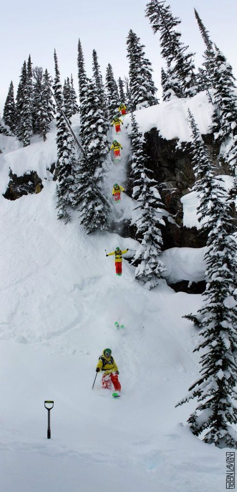 K2 Facebook Fan Photo of the day! This one was taken in Revelstoke BC.