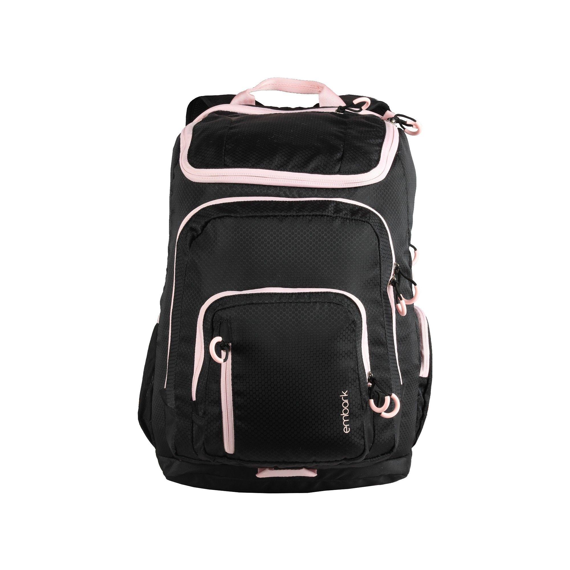 752a2472165e 19 Jartop Elite Backpack - Black/Light Pink - Embark   Products ...