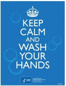 Keep Calm Wash Your Hands Poster Public Health Nurse Hand