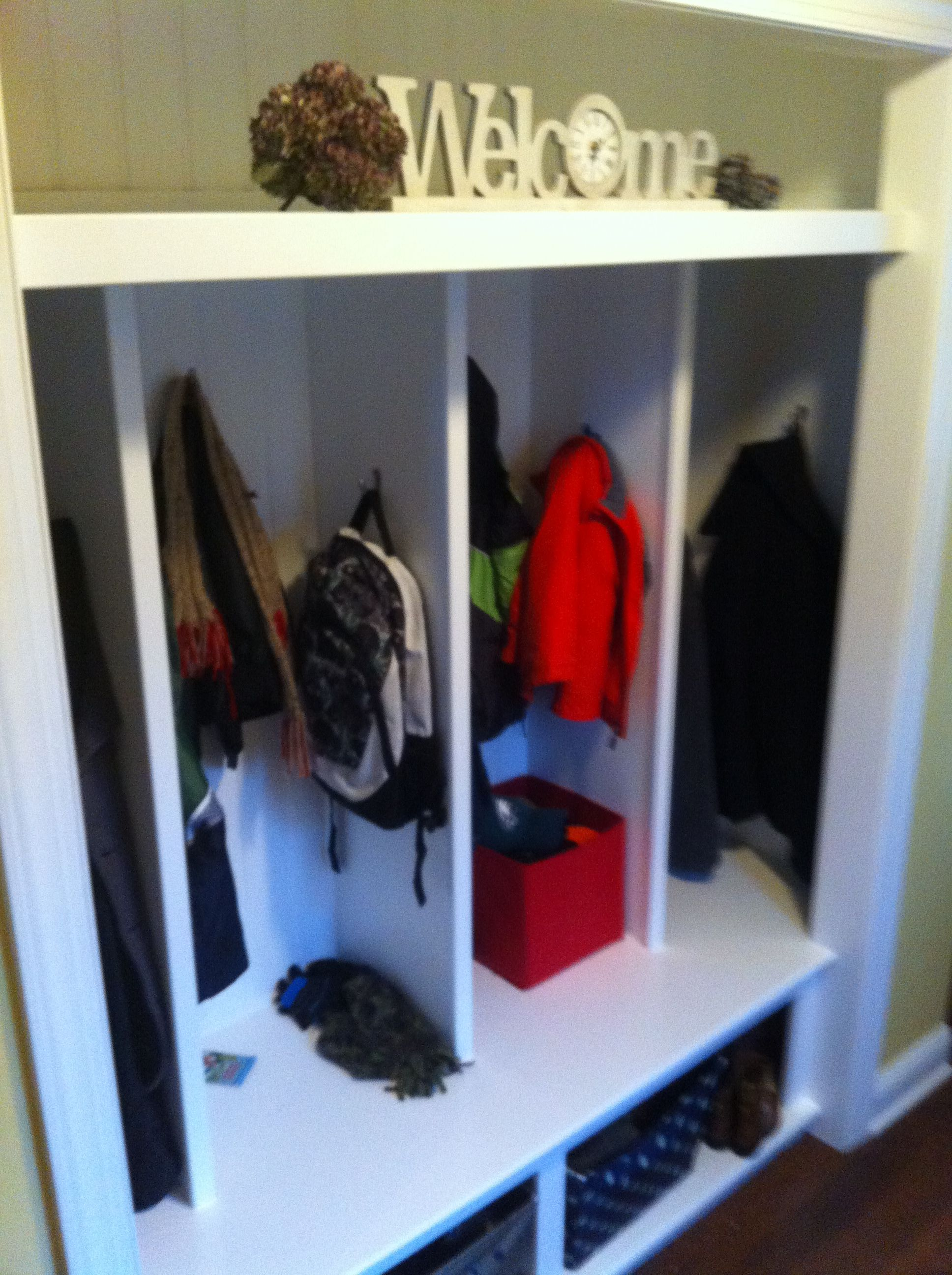 Entryway Closet Transformation