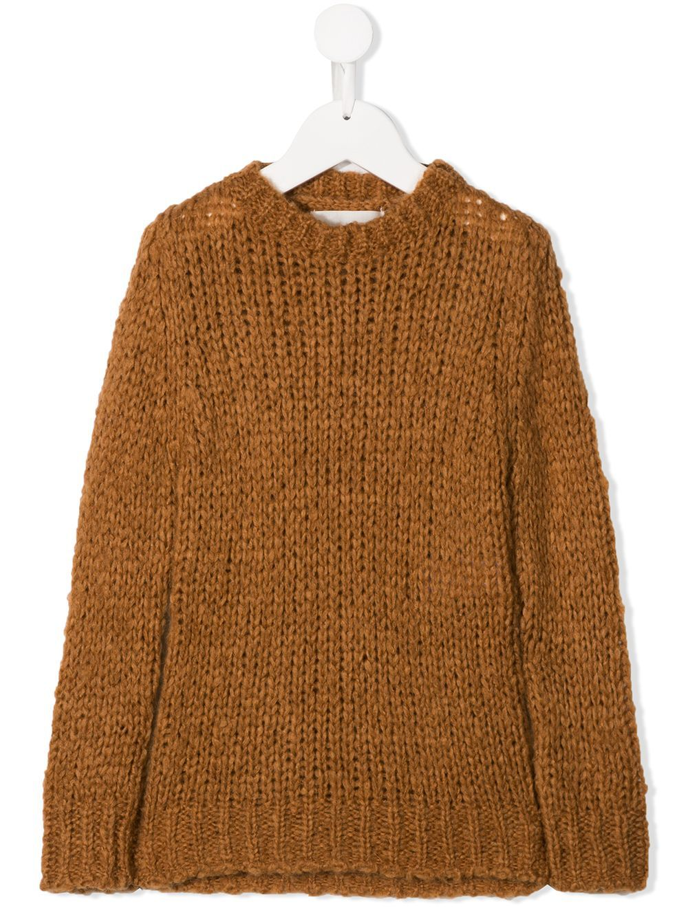 Touriste chunky knit jumper - Brown