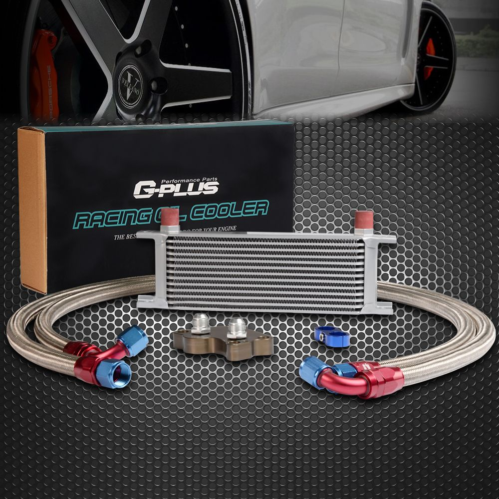 13 Row An10 An Engine Oil Cooler Kit For Bmw Mini Cooper S R53
