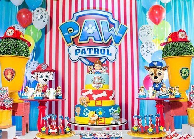 Repost encantefestasrecife fabulosa fiesta de la - Decoracion de la patrulla canina ...