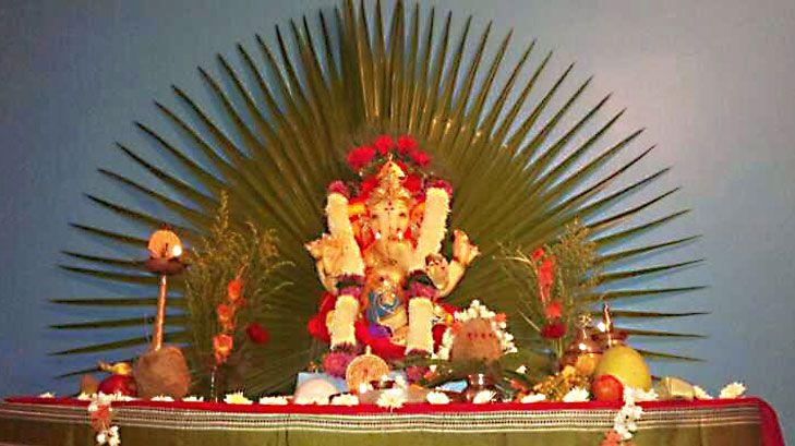 Ganpati Decoration Ideas For Home