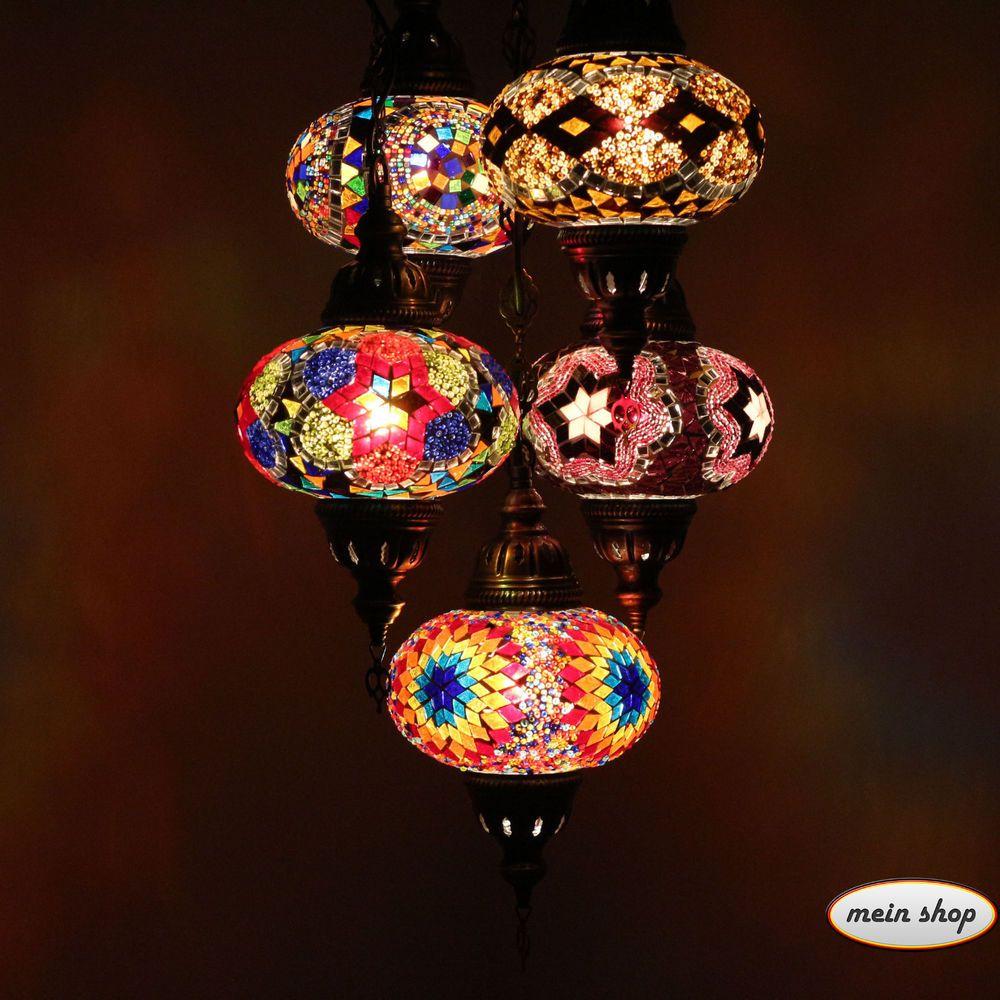 Details Zu Mosaik Lampe Deckenlampe Orientalische Trkei 5 Large Lampen