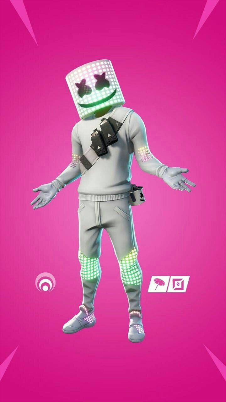 Fortnite Marshmello Epic Games Lord Of Gamers Gaming Wallpapers