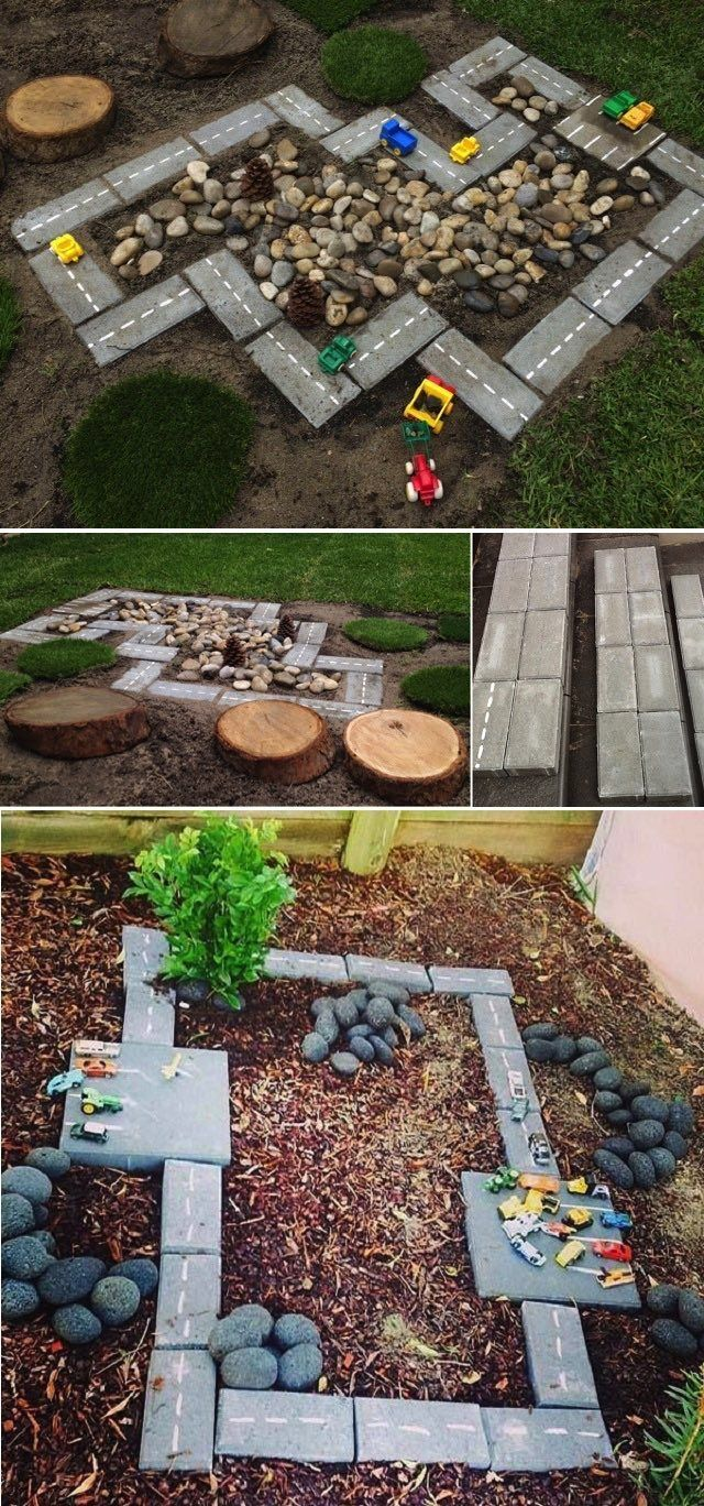 Ingenious ideas to keep children busy in the yard or on a terrace #hofideen