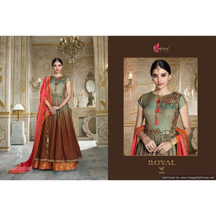 c62d22e4159 Kesari Trendz Rangoli Vol-01 Silk Salwar Suit Wholesale Catalog ...
