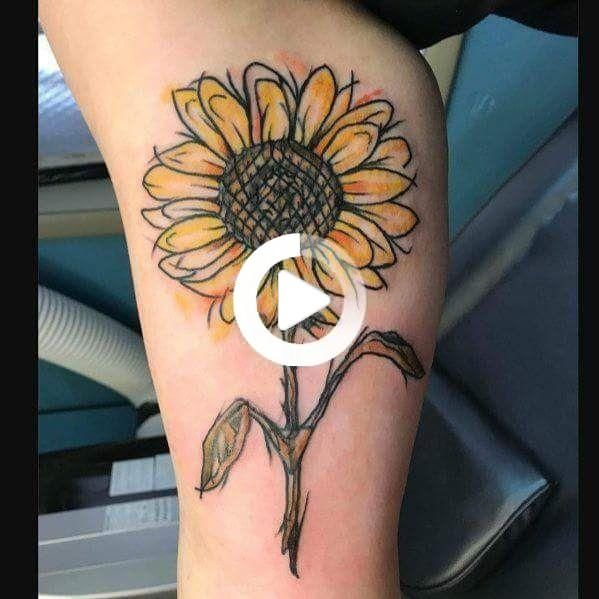 tatouage tournesol in 2020 | Forearm tattoos, Sunflower tattoo sleeve,