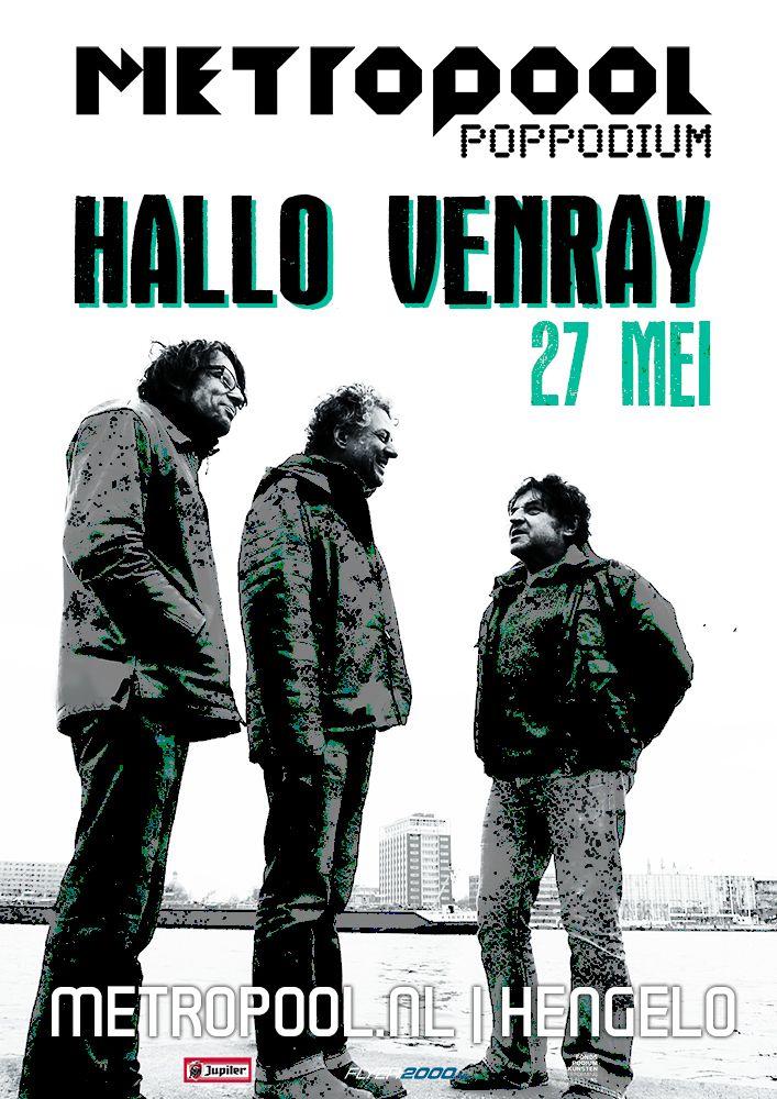zaterdag 27 mei   Hallo Venray   Het swingt, het schuurt, het is monter en melancholiek tegelijk.