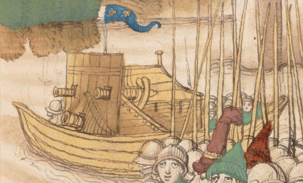Diebold Schilling, Spiezer Chronik Bern · 1484/85 Mss.h.h.I.16  Folio 47