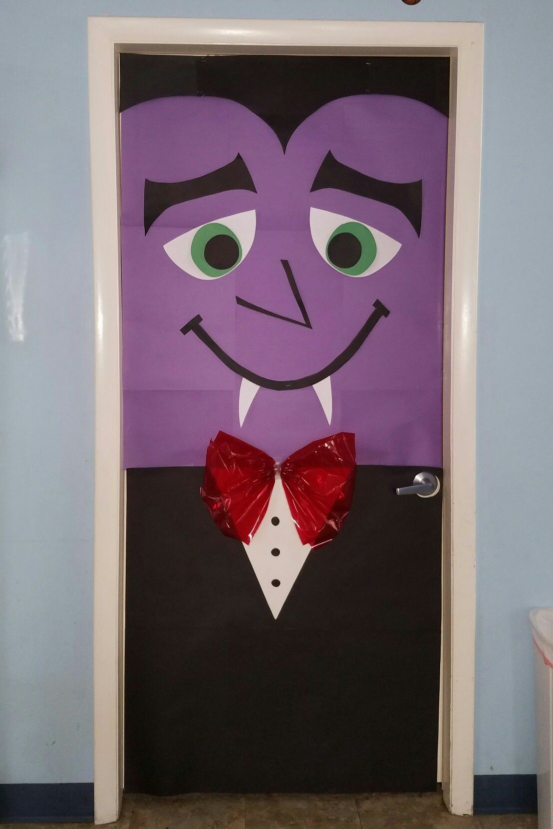 Vampire Door Decor | Halloween | Halloween, Puerta De #halloweendoordecorations