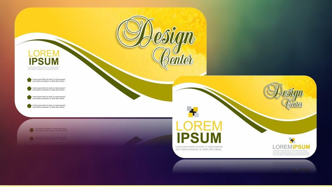 Coreldraw X7 Tutorial Business Card Design 13 With As Graphics Business Card Design Card Design Corel Draw Tutorial