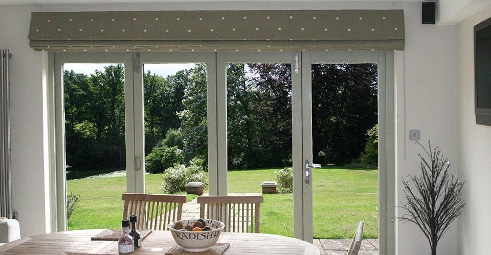 Kitchen Bifold Door Roman Blind Home Sweet Home Pinterest Roman Blinds Roman And Doors