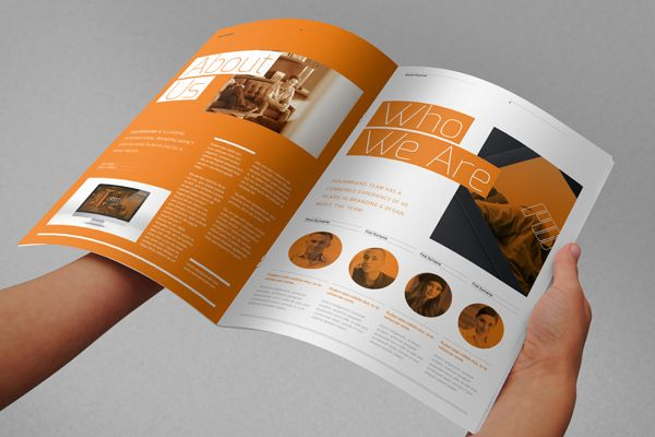 Agency Proposal Template By RW DS, Via Behance  Proposal Layouts