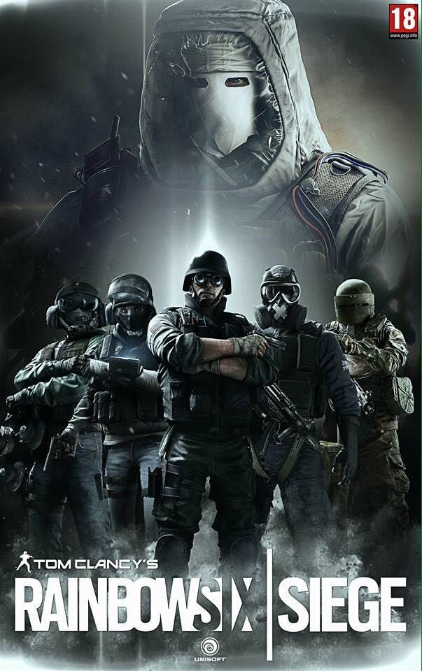 Rainbow Six Siege RAINBOW 6 SIEGE Pinterest Rainbows