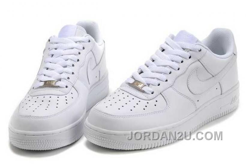 Nike Air Force 1 Low Womens All White