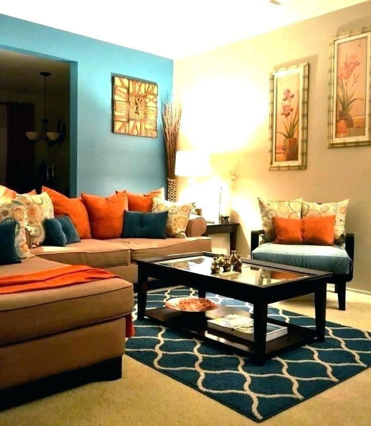 orange living room decor orange and grey living room theme