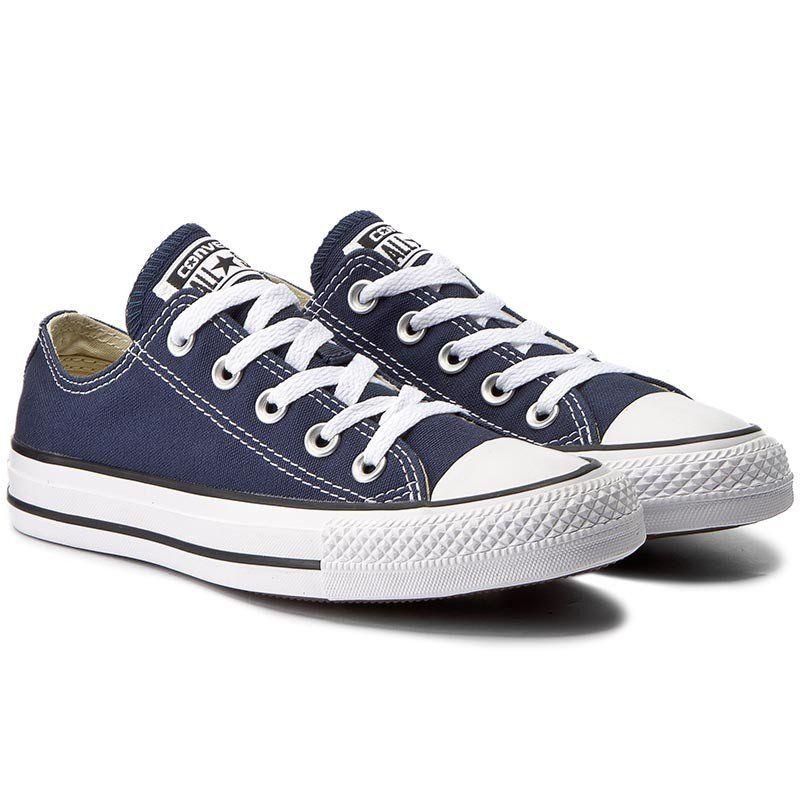 Converse Buty Trampki Granatowe M9697 Wyprzedaz Converse Converse All Star Ox Sneakers
