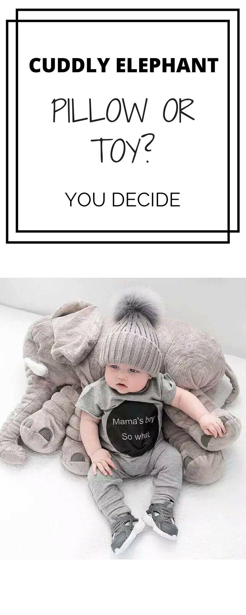 f17584c16 ♥♥♥ Christmas cuddly TOY ELEPHANT PILLOW ♥ Plush Baby Elephant ...