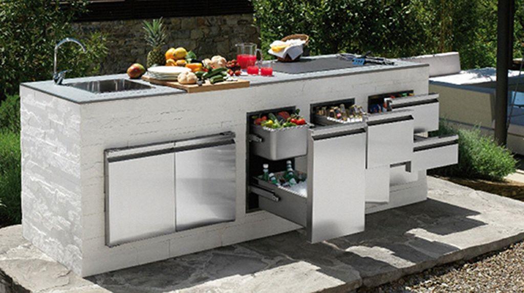 Modular Outdoor Kitchens Modern Modular Outdoor Kitchens