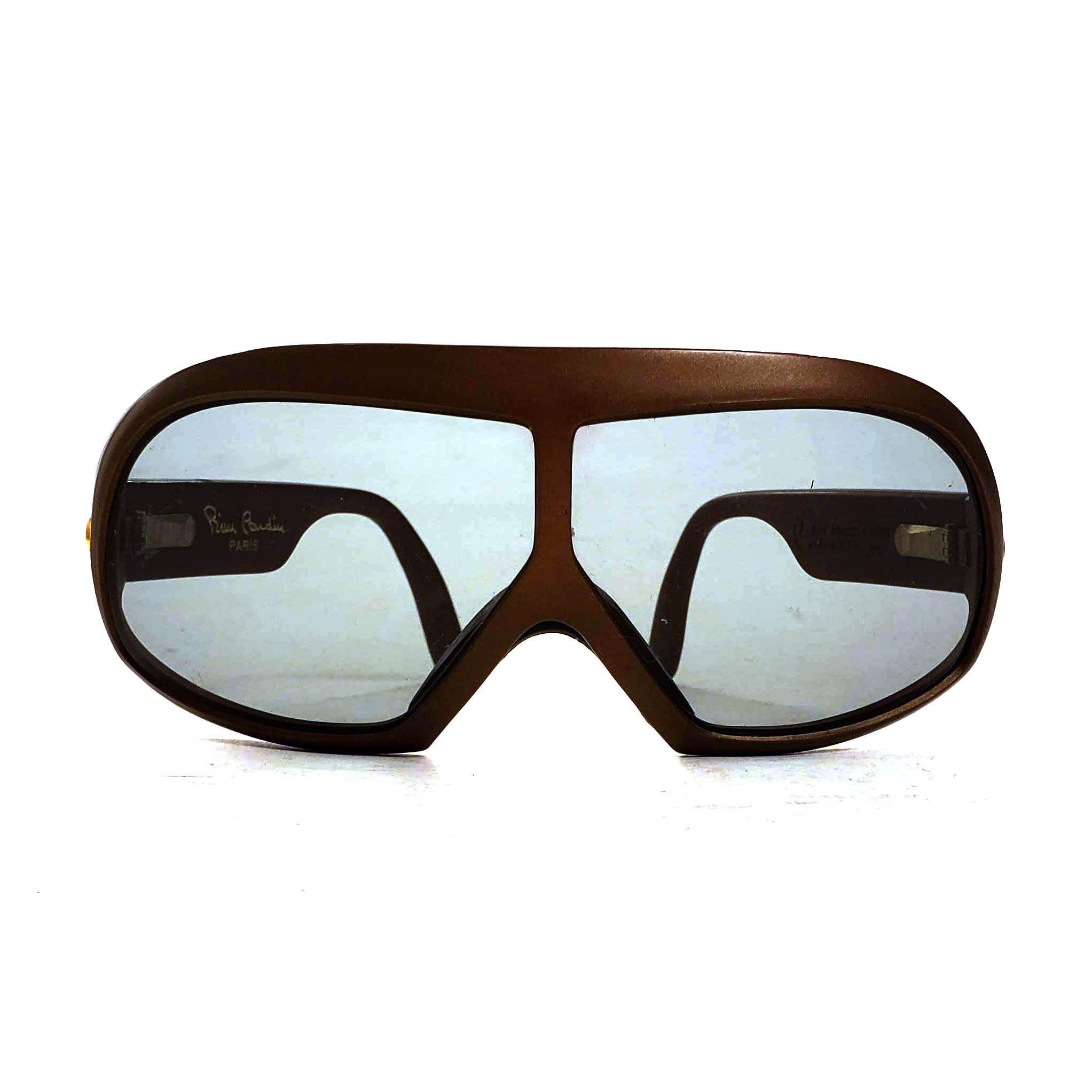 Pierre Cardin Sunglasses Vintage 80s Designer Sport Mask Frames Unisex