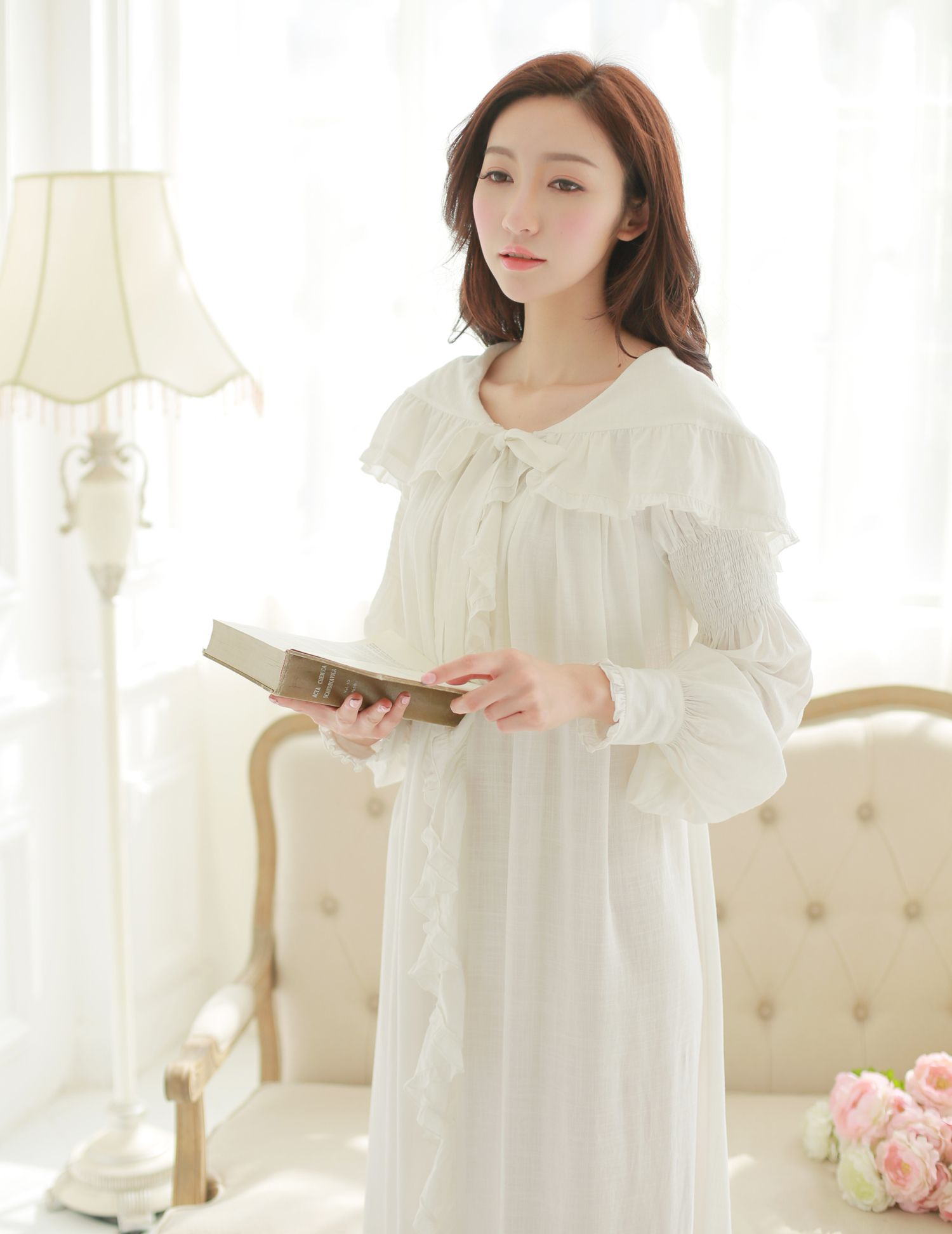 Find More Information about Free Shipping Linen And Cotton Princess ...