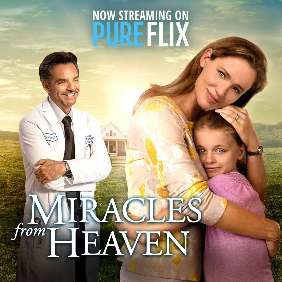 Stream 'Miracles From Heaven' on Pure Flix! Start