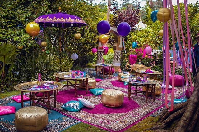 "🎁We create kids parties!🎂 on Instagram: ""🔝An ultimate oriental experience!  Are you looking for unique and exciting decor ideas? 🌟Then you will love a Moroccan themed party!  We…"""