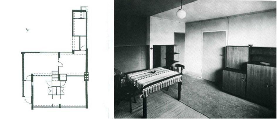 Colonia Törten, Walter Gropius, 1928. Walter gropius