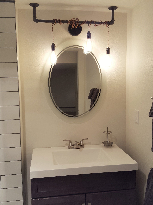 3 Pendant Light Wrap Vanity Light Bathroom Lighting Etsy