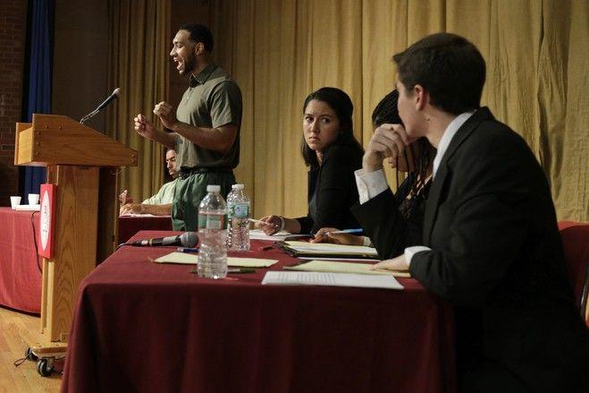 討論でハーバード大生に勝った受刑者は反響に驚いている