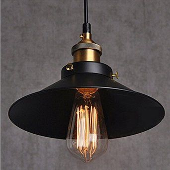 Industrial vintage pendant light shade retro ceiling lighting industrial vintage pendant light shade retro ceiling lighting restaurant pendant lamp shade e27 base amazon mozeypictures Image collections