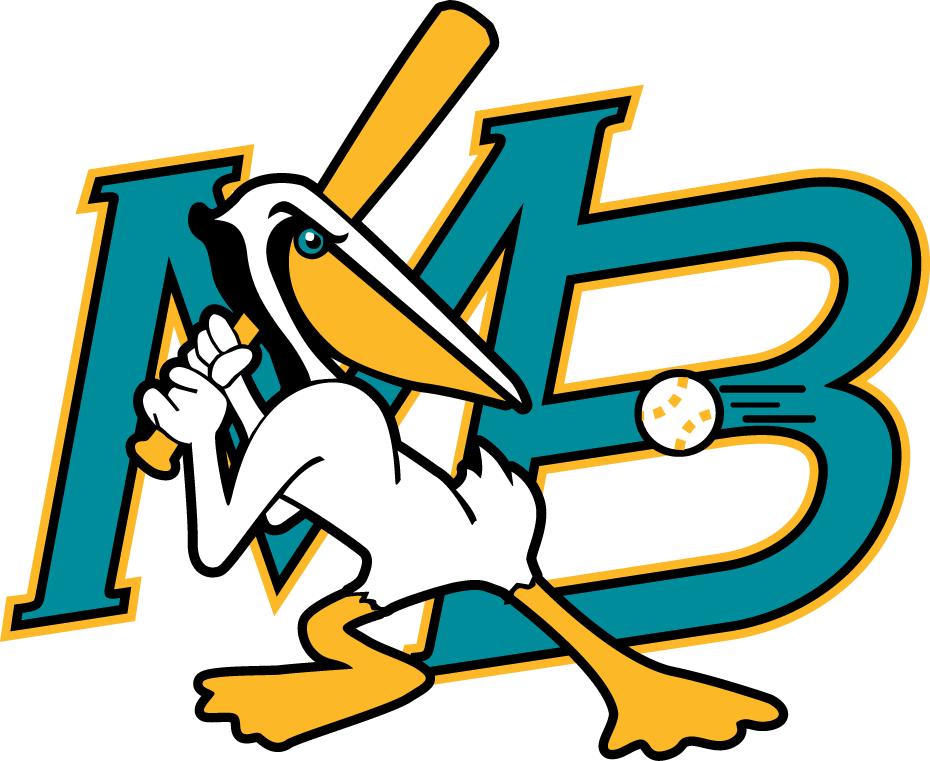 Myrtle Beach Pelicans Primary Logo 1999