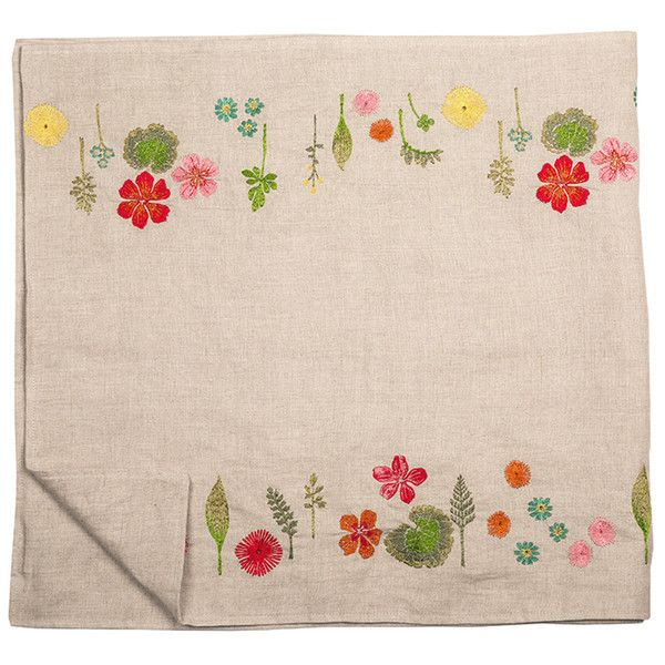 coral tusk bouquet table runner for mom pinterest embroidery rh pinterest com