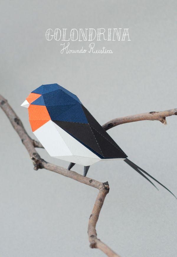 Aves de papel, del estudio porteño Guardabosques