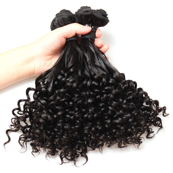 Brazilian Virgin Hairaunty Funmi Hair Weave Cheap Remy Hair