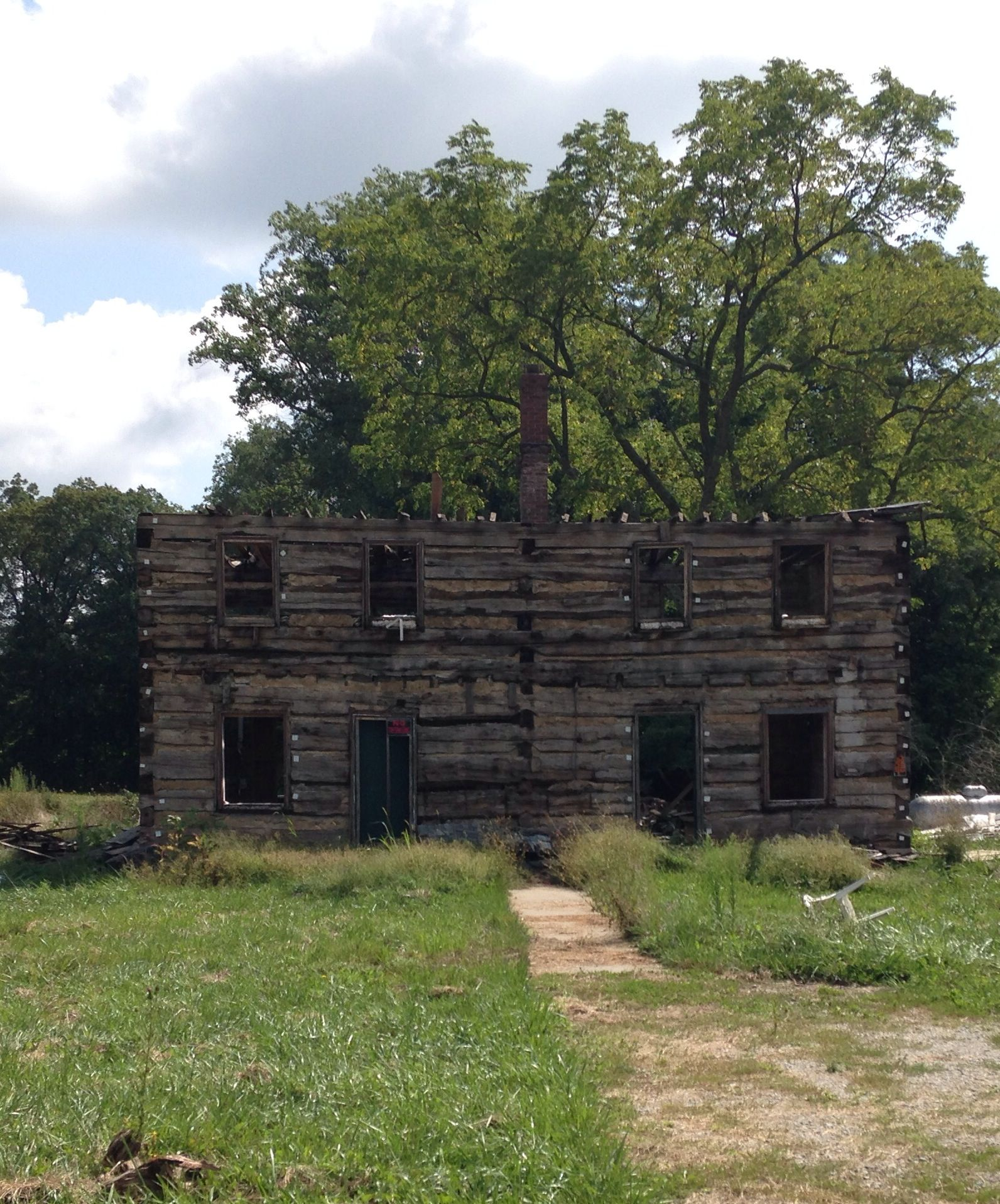 Very old home. Mostly fallen apart. Greensburg Indiana