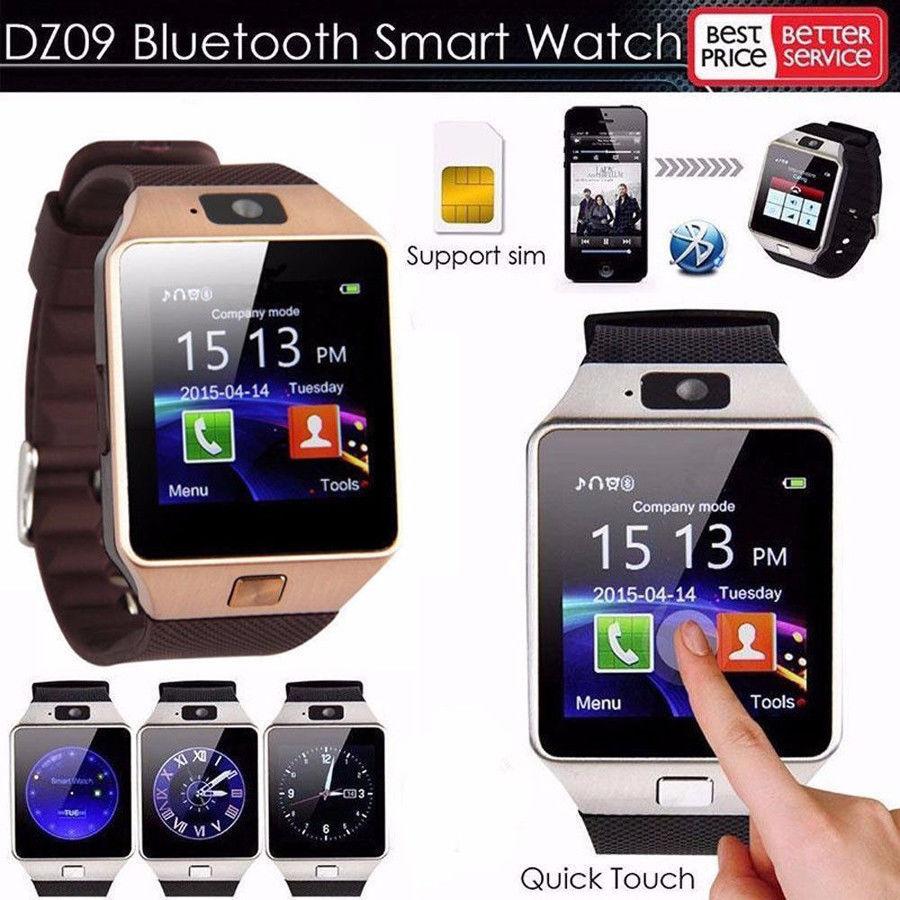 3 0aud Latest Dz09 Bluetooth Smart Watch Camera Sim Slot For Htc Samsung Android Phone Ebay Electronics Smart Watch Watch For Iphone Smart Watch Android