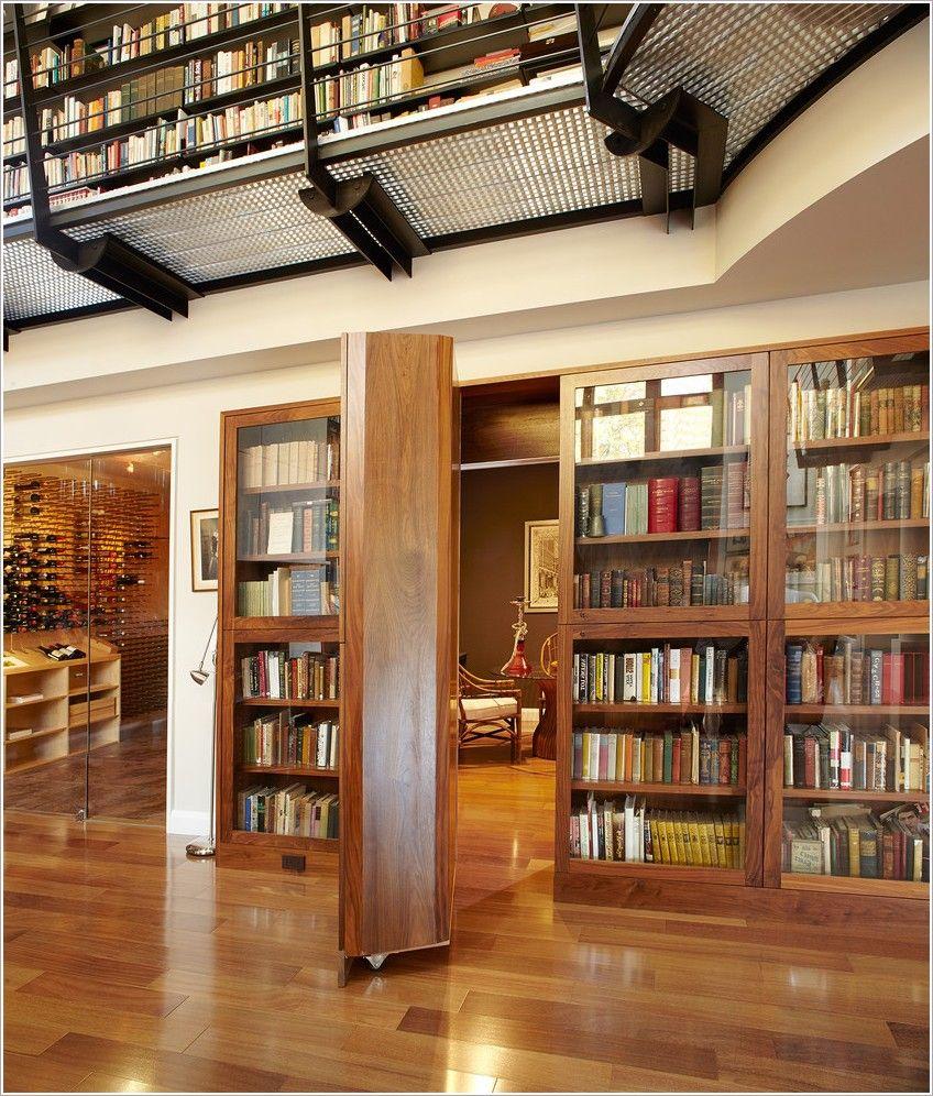 New York Book Shelves Bookcase Bookshelves Catwalk Custom