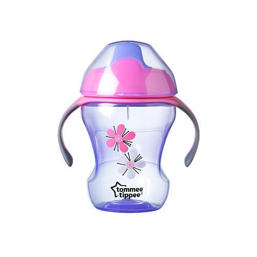 Designed for use from about 7 months onward, the Tommee Tippee Trainer  Sippee Cup with a 8 ounce/230 milliliter capacity is the perfect way to  develop grown ...