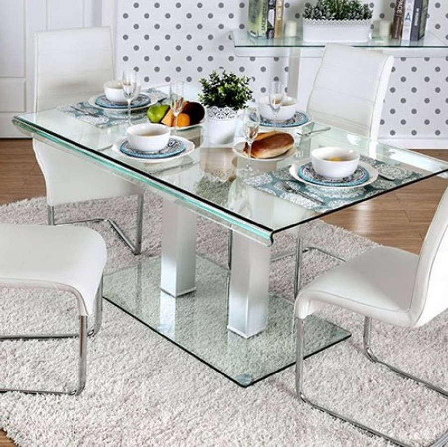 Home Staging Dining Room Table: Furniture Of America Richfield I Dining Table
