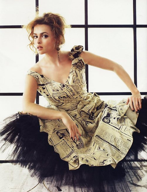 newspaper dress tumblr wearable art unconventional
