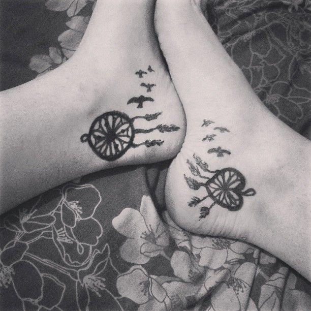 dream catcher tattoo for girls ankle best tattoo designs