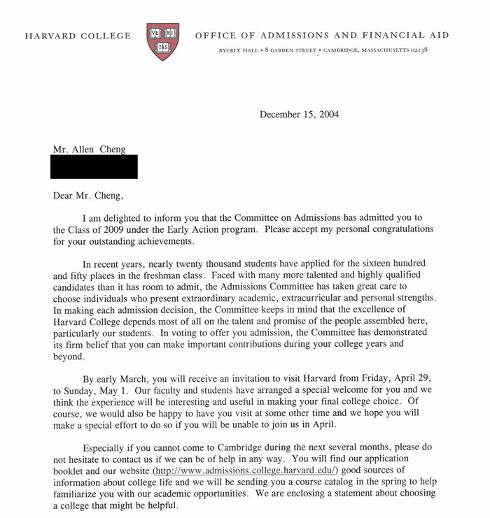 Letter Of Recommendation Common App Unique My Successful Harvard Application Plete Mon In 2020 College Essay Stanford Admission That Worked