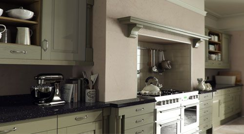 Windsor Painted Overmantle | Kitchen cabinets, Kitchen ...